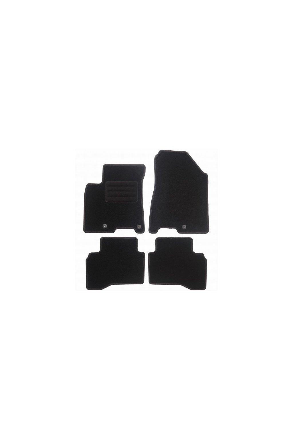 Koberce textilni ACR Kia Niro 2016- černá