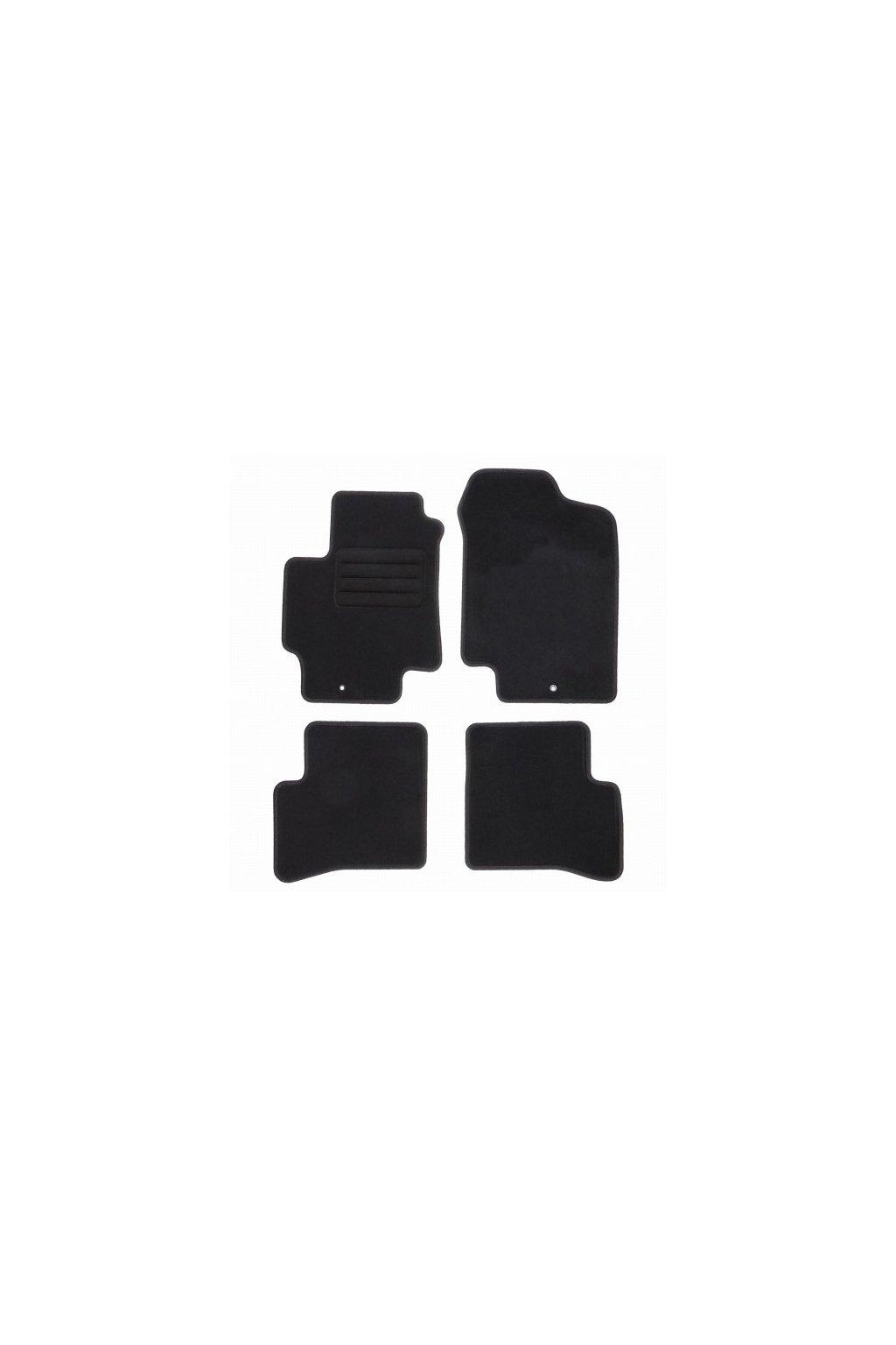 Koberce textilni ACR Kia Rio II [DE] 2005-2011 černá