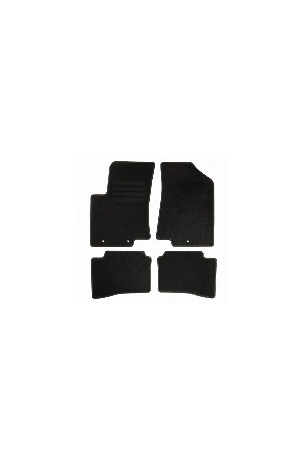 Koberce textilni ACR Kia Rio III [UB] 2011-2017 černá