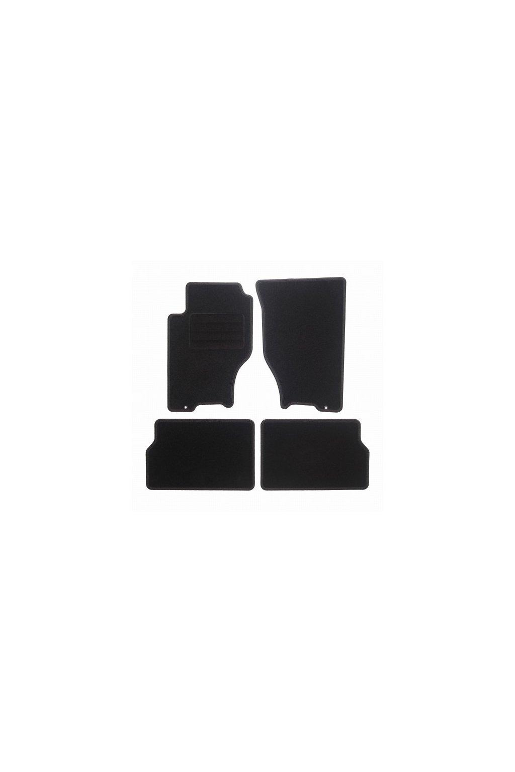 Koberce textilni ACR Kia Sorento I 2003-2009 černá