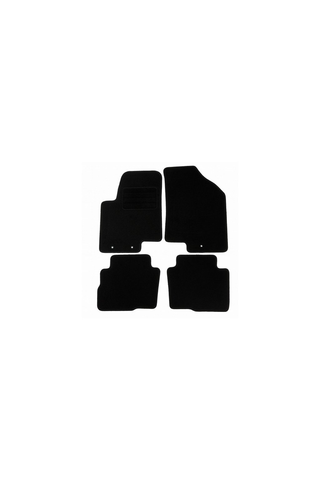 Koberce textilni ACR Kia Soul I [AM] 2008-2013 černá
