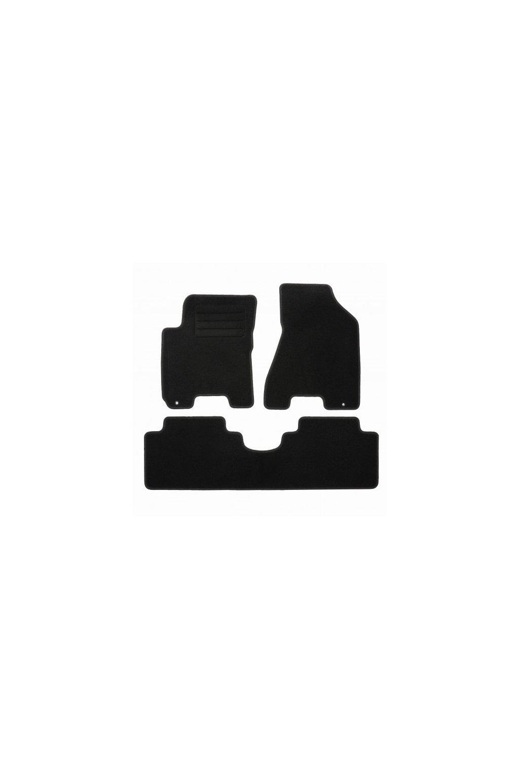 Koberce textilni ACR Kia Sportage II 2004-2010 černá