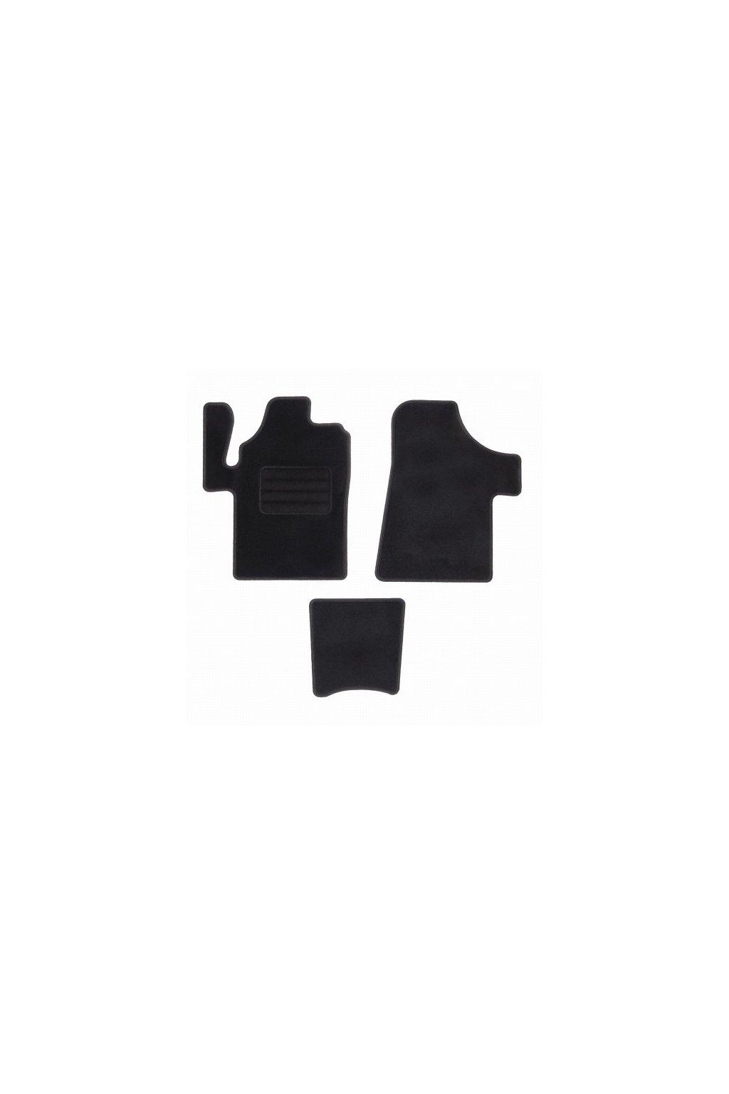 Koberce textilni ACR Mercedes-Benz Viano W639 2003-2014 černá