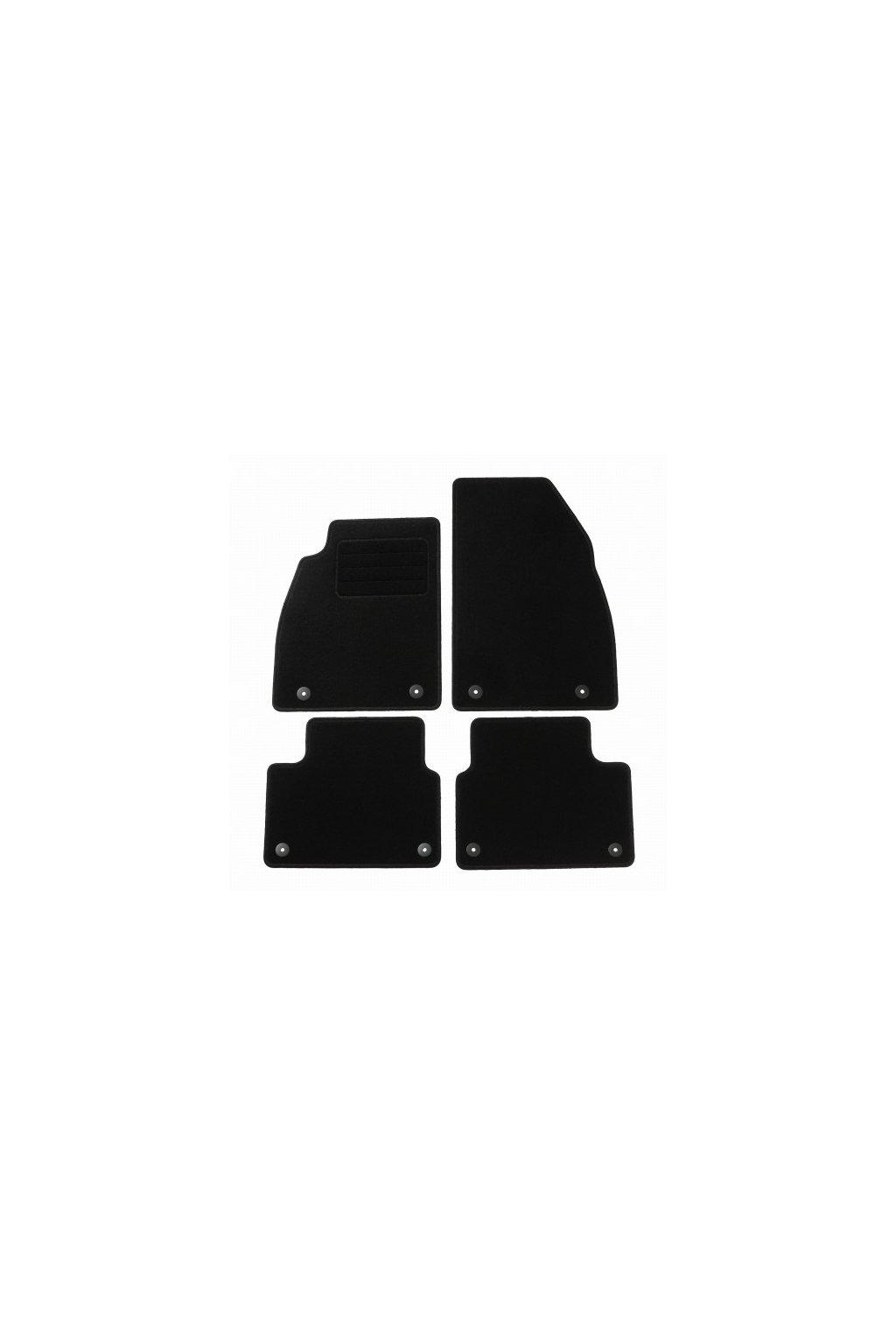 Koberce textilni ACR Opel Insignia A 2013-2017 černá