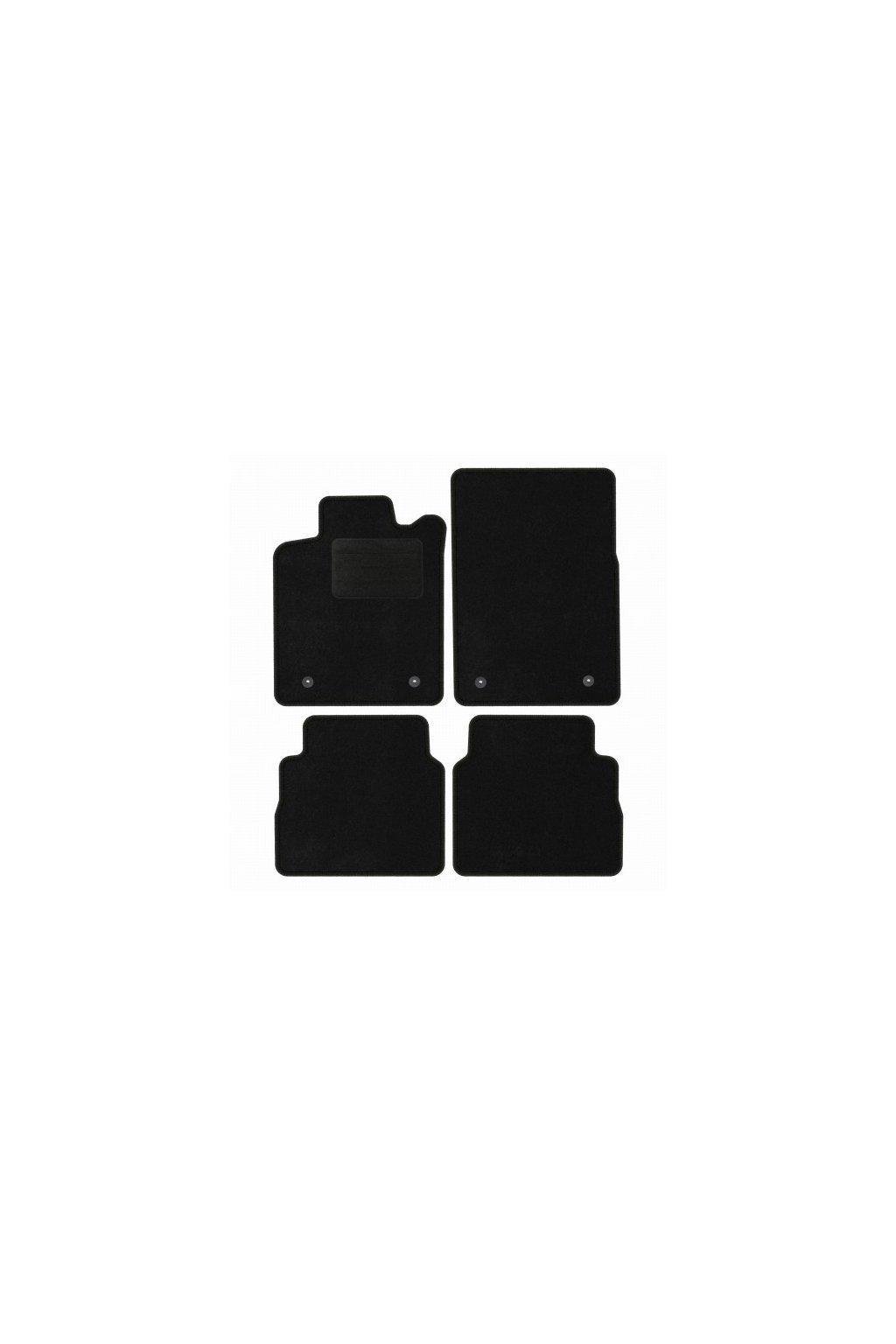 Koberce textilni ACR Opel Signum 2003-2008 černá