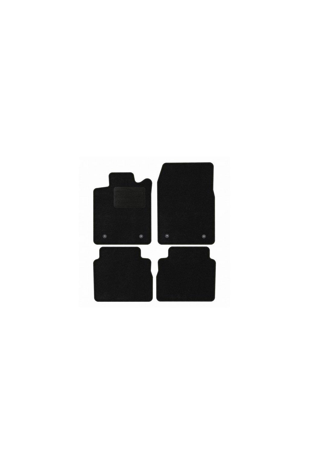 Koberce textilni ACR Opel Vectra C KOMBI 2002-2008 černá