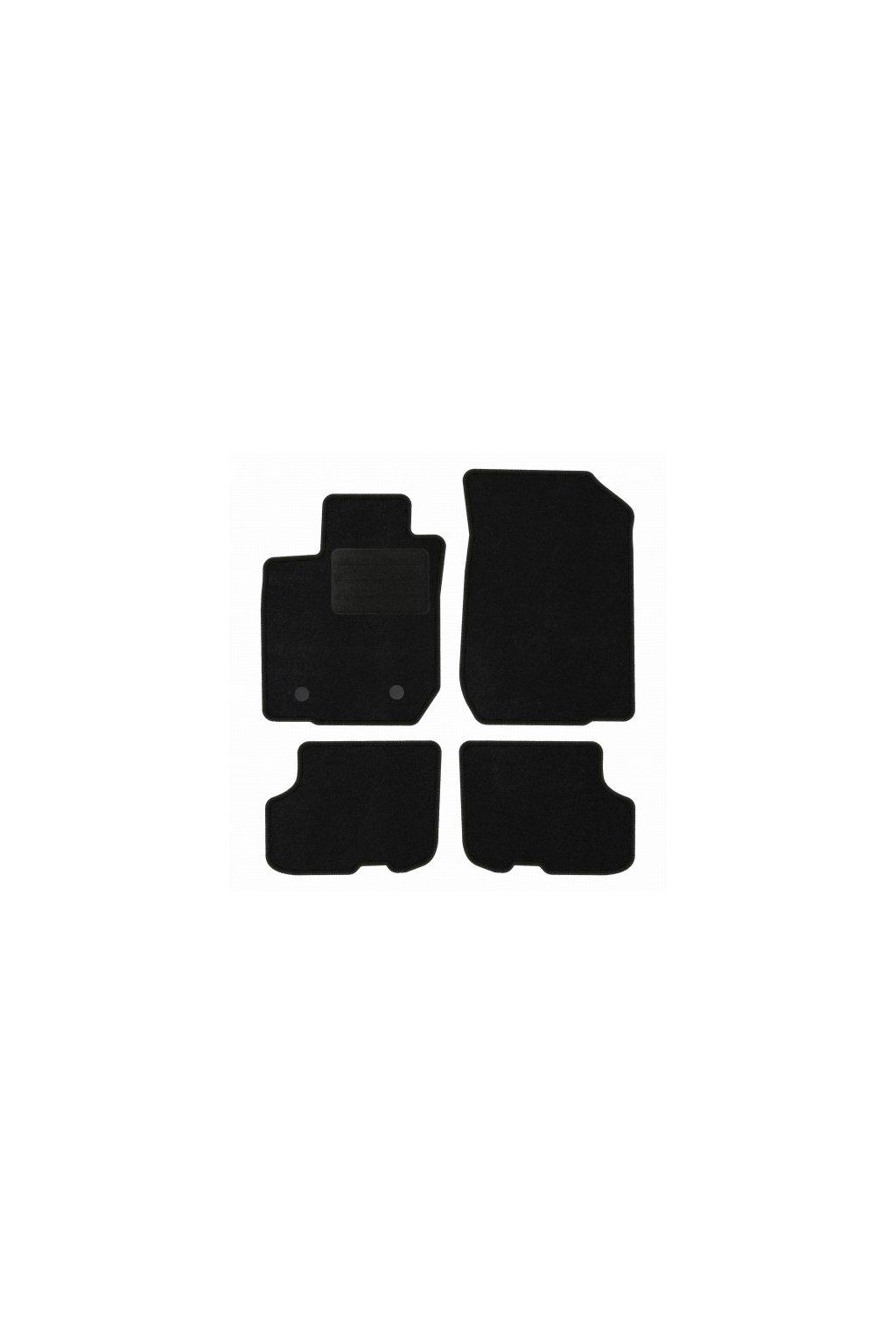 Koberce textilni DACIA Logan II 2012- černá