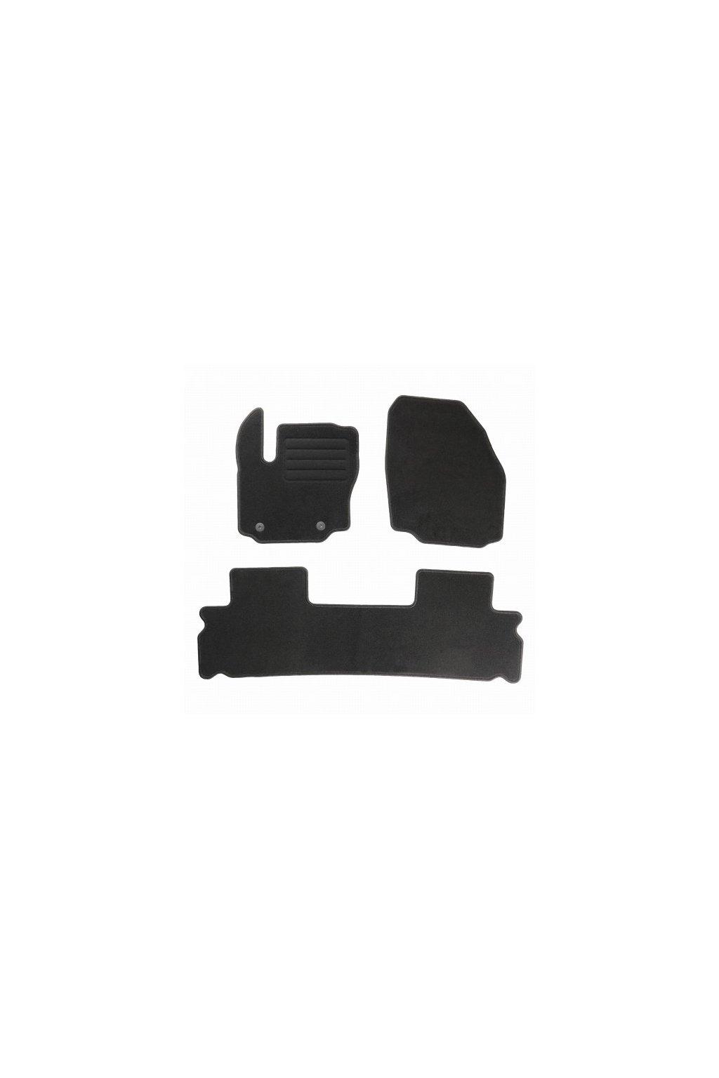 Koberce textilni Ford Galaxy II 5 mist 2012-2015