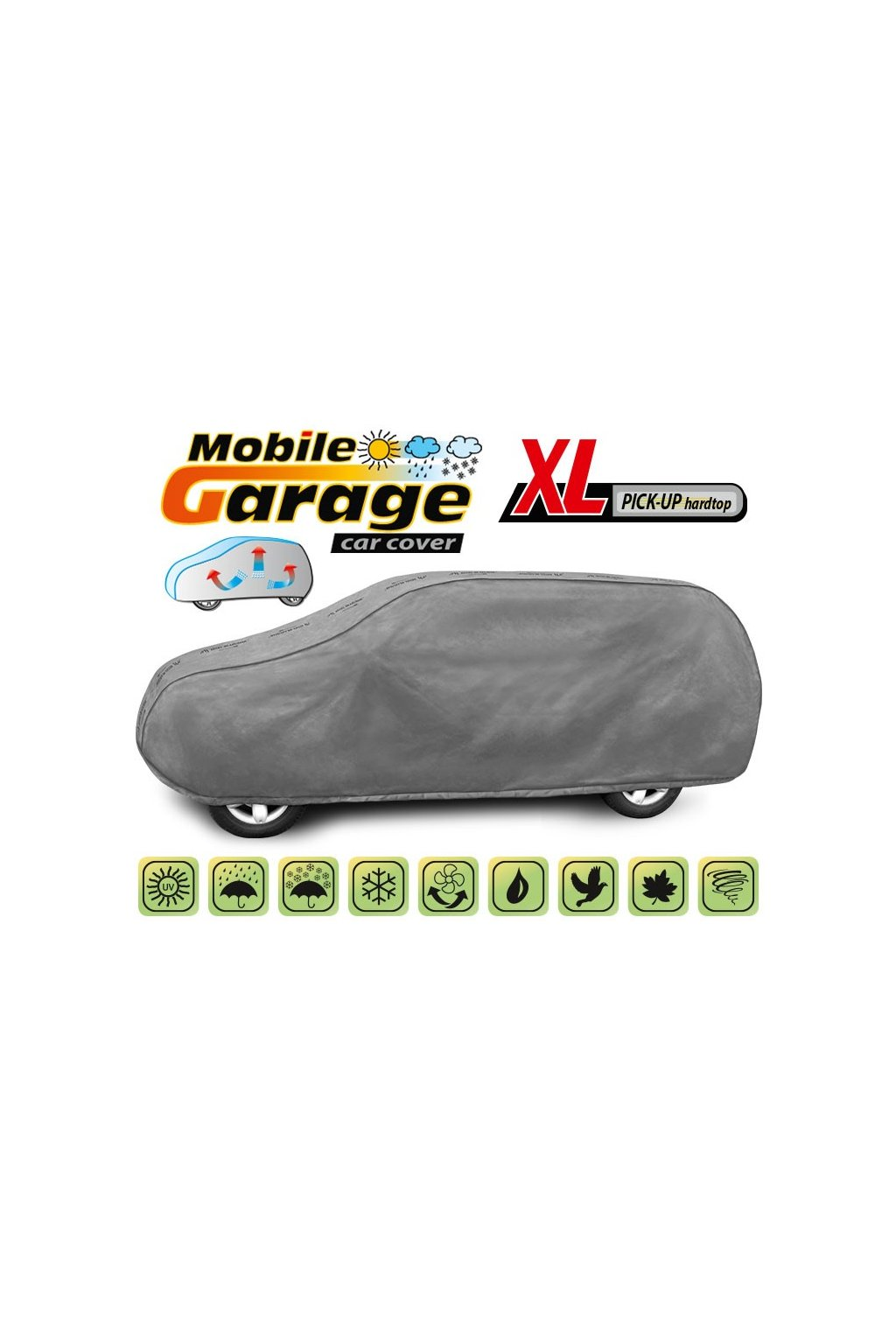 mobile garage XL pickup hardtop 5 4128 248 3020