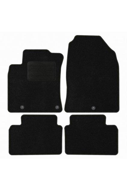 Koberce textilni ACR Hyundai i30 III 2016- černá