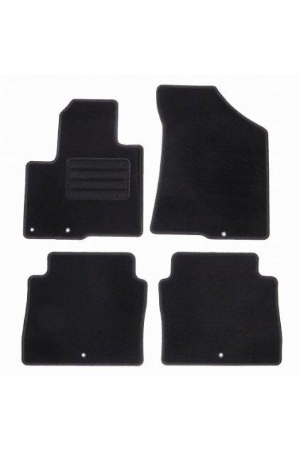 Koberce textilni ACR Hyundai Santa Fe II 2010-2012 černá