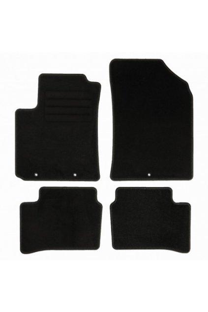 Koberce textilni ACR Kia Picanto II [JE] 2011-2017 černá