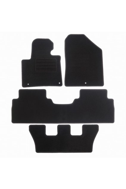 Koberce textilni ACR Kia Sorento III 2015- černá