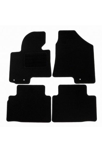 Koberce textilni ACR Kia Sportage III 2010-2016 černá