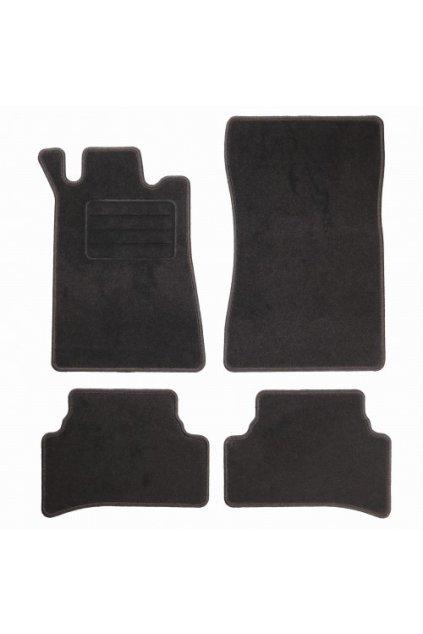 Koberce textilni ACR Mercedes-Benz C-KLASSE W202 1993-2001 černá