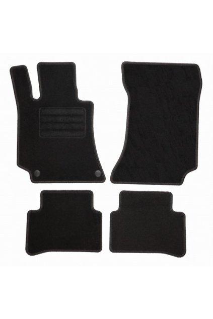 Koberce textilni ACR Mercedes-Benz E-KLASSE W212 2009-2016 černá