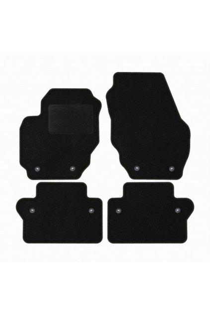 Koberce textilni ACR Volvo XC-70 III 2011-2016 černá