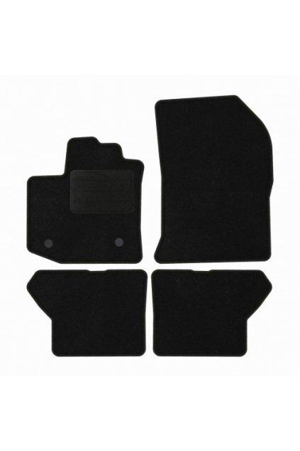 Koberce textilni DACIA Dokker 2012- černá