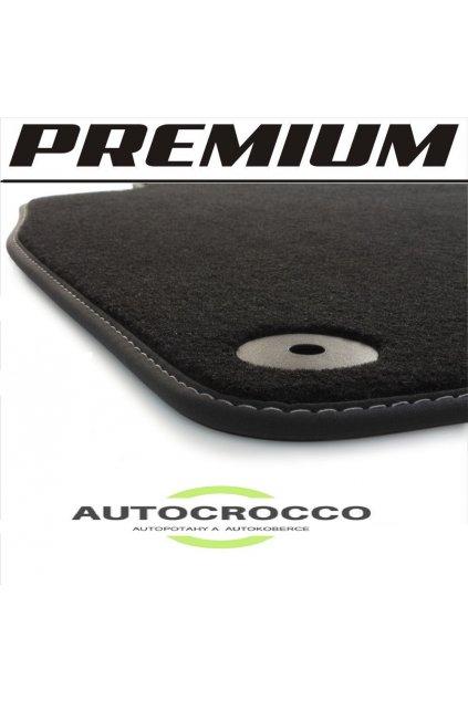 Koberce textilni PREMIUM Audi A4 B8 8K  rok vyroby 2007-