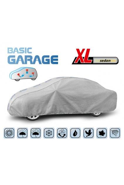 Plachta na auto BASIC GARAGE XL sedan