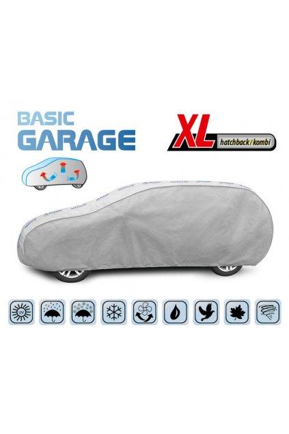 Plachta na auto BASIC GARAGE XL Hatchback/Kombi