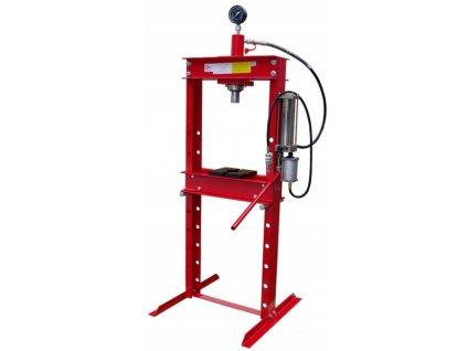 Hydraulický lis 20 t - hydraulicko-pneumatická pumpa