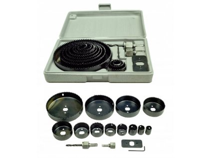 Sada vykružovacích korunkových vrtáků 19 - 127 mm V03042
