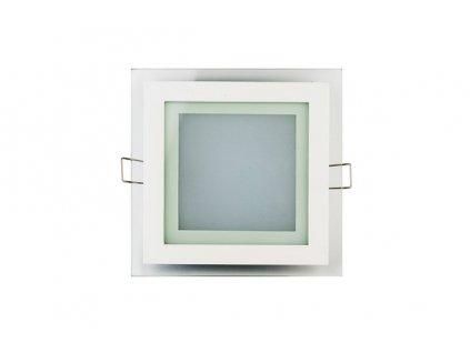 181 panel led kwadrat szklany 12w neutralny