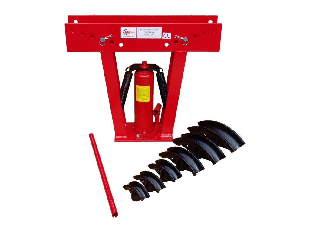 Hydraulická ohýbačka trubek o síle 12 tun