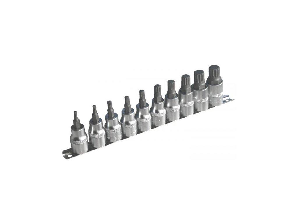 Sada nástrčných klíčů XZN 1/2 10 ks, 954010-1