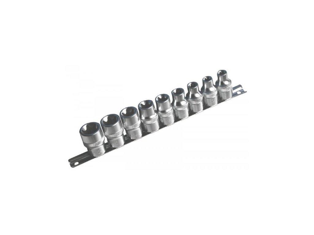 Sada nástrčných klíčů TORX 1/2 9 ks, 954009-2