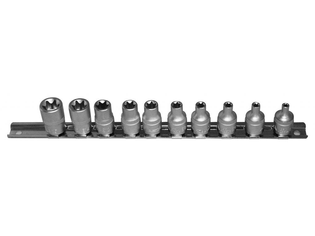 Sada nástrčných klíčů TORX 3/8 10 ks, 236SET10