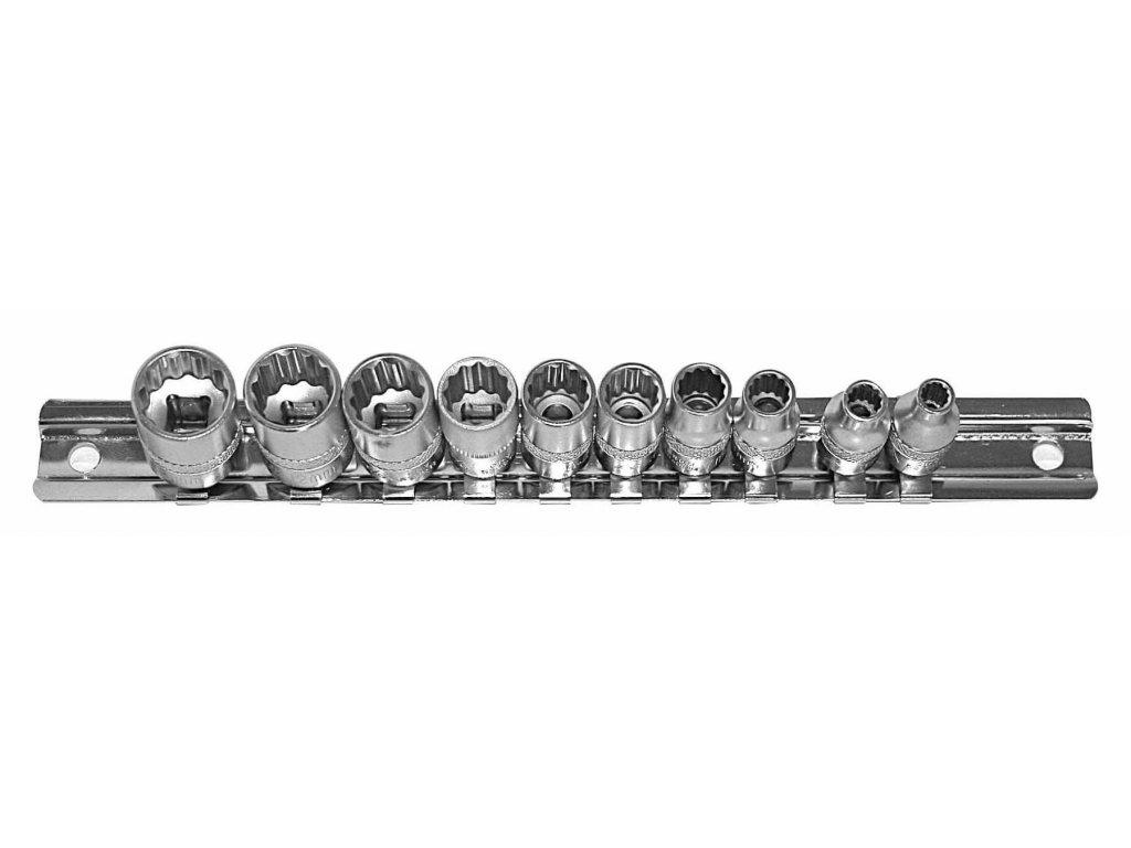 Sada nástrčných klíčů 1/4 10 ks, 522SET10