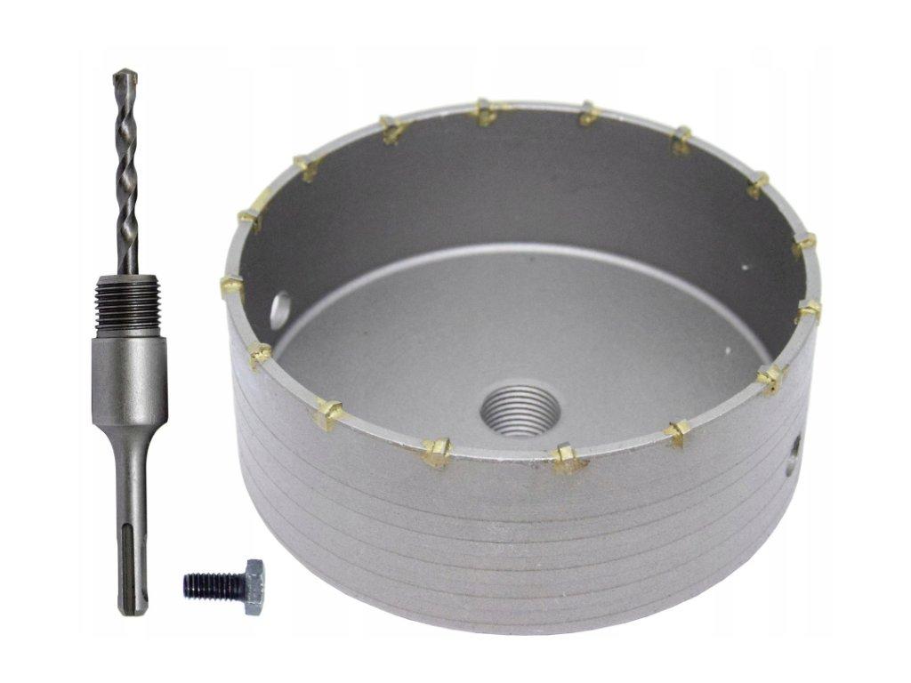 Korunkový vrták 120mm do betonu SDS PLUS, V03004