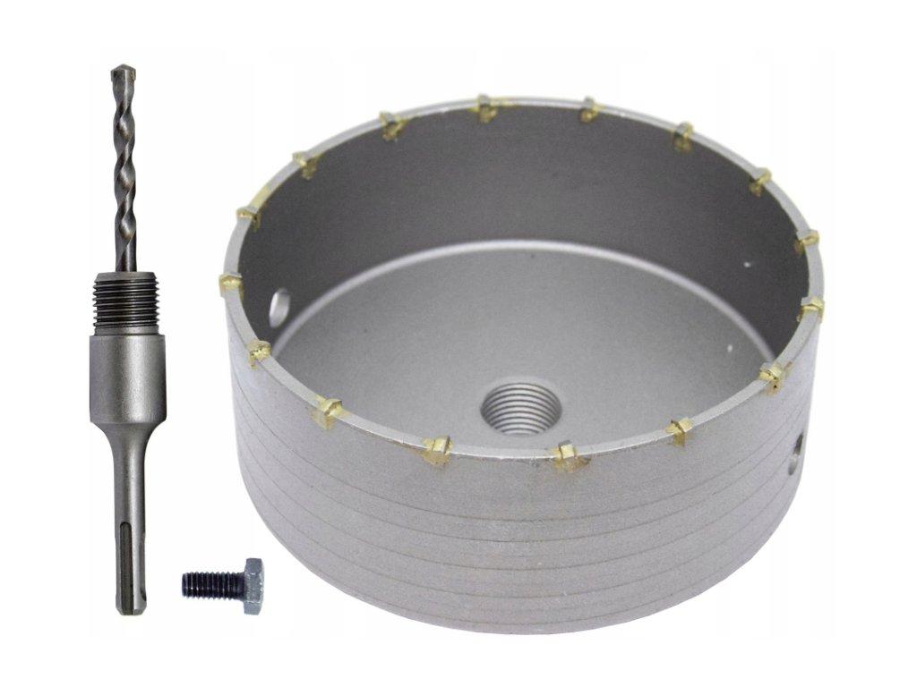 Korunkový vrták 125mm do betonu SDS PLUS, V03005