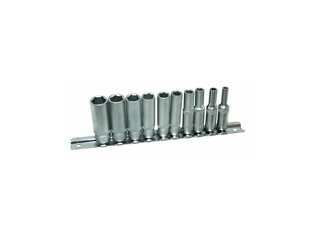 Sada nástrčných klíčů 1/4 10 ks, 542SET10-6