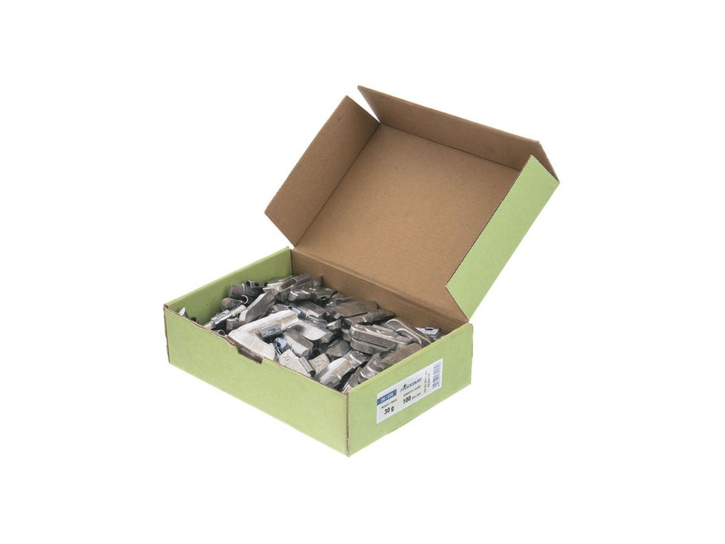 Zinková závaží pro plechové disky, 30g, 100 ks Fivestars - 01-02-18