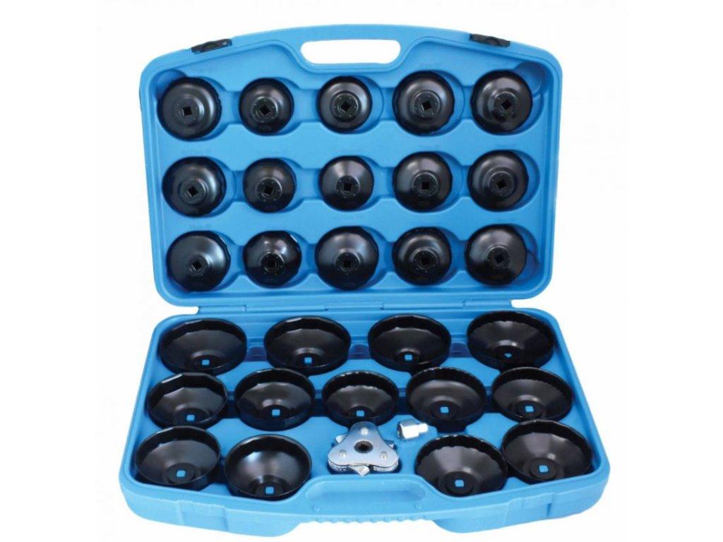 Klíče na olejové filtry, sada 30 kusů F05113