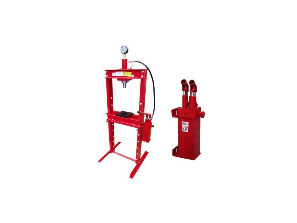 Hydraulický lis 20 t - dvourychlostní pumpa