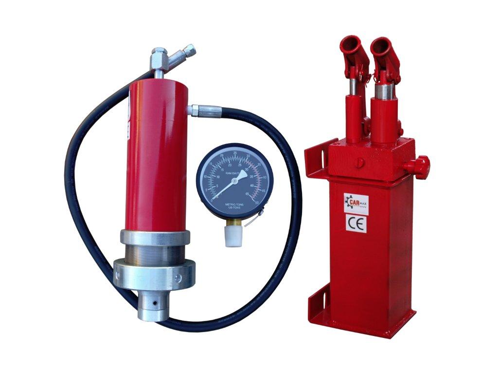 Sestava k lisu 30 t s hydraulickou, dvourychlostní pumpou