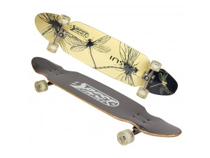 Longboard BEST SPORTING INSECT 109x26 cm