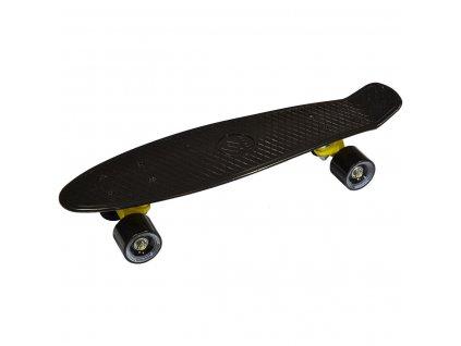 Plastový skateboard 56 cm Enero černý