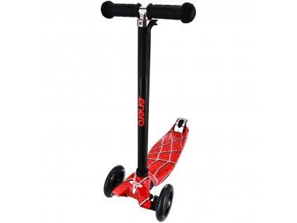 Tříkolová balanční koloběžka Enero Maxi Spider