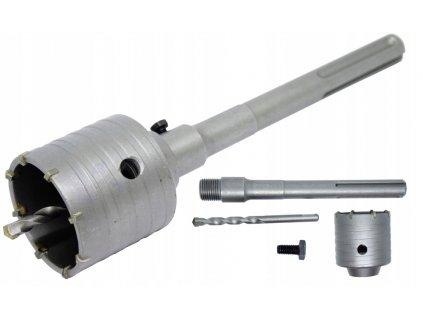 Korunkový vrták do zdi a betonu 80mm SDS MAX V03033