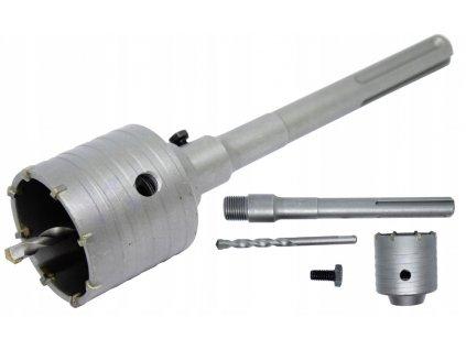 Korunkový vrták do zdi a betonu 65mm SDS MAX V03032