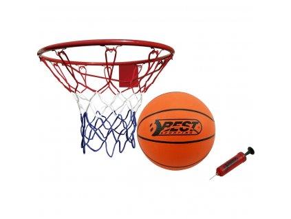 Basketbalový koš 45 cm s míčem a pumpičkou Best Sporting