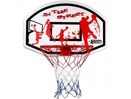 Basketbalová deska 90x60 cm Best Sporting s košem o průměru 45 cm