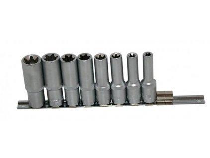 Sada nástrčných klíčů TORX 1/2 8 ks, 346SET8