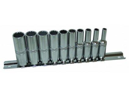 Sada nástrčných klíčů 1/4 10 ks, 542SET10-12