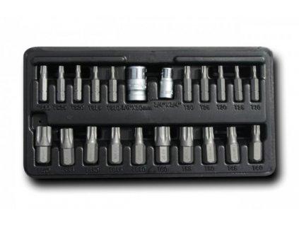 Sada bitů TORX T10-T60 22 ks, A-TORX/P